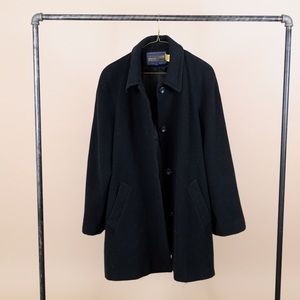 Pendleton Wool Cashmere Mid Length Coat Large